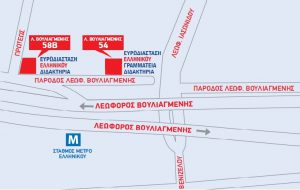 Ευρωδιάσταση Ελληνικό Χάρτης
